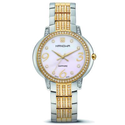 ساعت مچی زنانه اصل | برند هانوا | مدل 16-7024.55.001