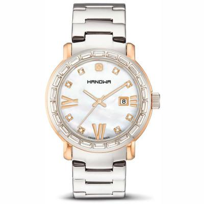 ساعت مچی زنانه اصل | برند هانوا | مدل 16-7027.12.001