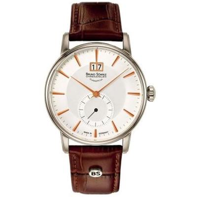 ساعت مچی مردانه اصل برند   برنو زونله   مدل 17-13055-245