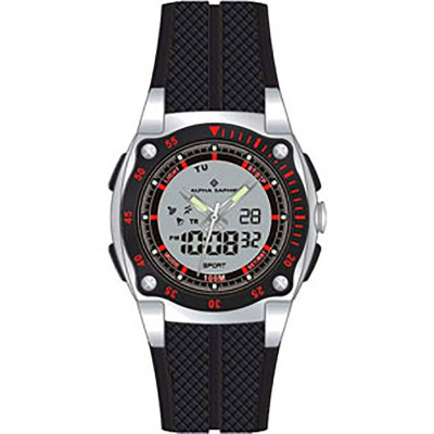 ساعت مچی مردانه اصل | برند آلفا سفیر | مدل 281F