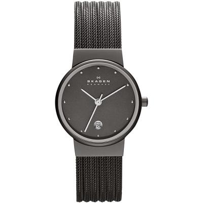 ساعت مچی زنانه اصل   برند اسکاگن   مدل 355SMM1