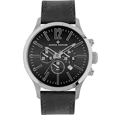 ساعت مچی مردانه اصل   برند آلفا سفیر   مدل 382A