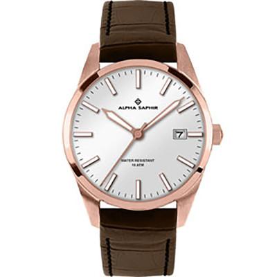 ساعت مچی مردانه اصل | برند آلفا سفیر | مدل 385G