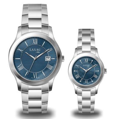 ساعت مچی ست مردانه - زنانه اصل | برند لاکسمی | مدل laxmi-8094-8095-1