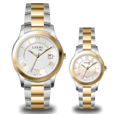 ساعت مچی ست مردانه - زنانه اصل | برند لاکسمی | مدل laxmi-8094-8095-3