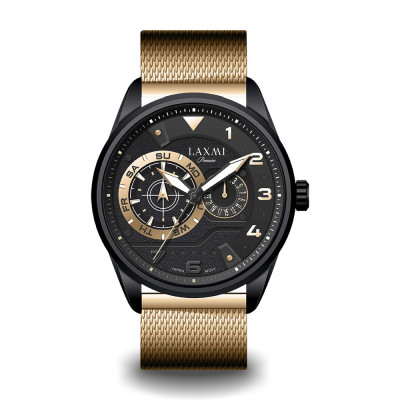 ساعت مچی مردانه اصل | برند لاکسمی | مدل laxmi-8106-5