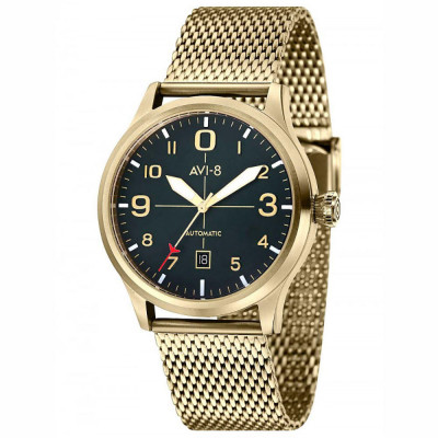 ساعت مچی مردانه اصل | برند ای وی ایت | مدل AV-4021-33