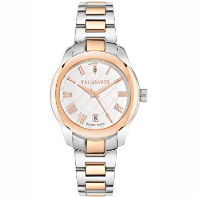 ساعت مچی زنانه اصل | برند تروساردی | مدل TR-R2453100504