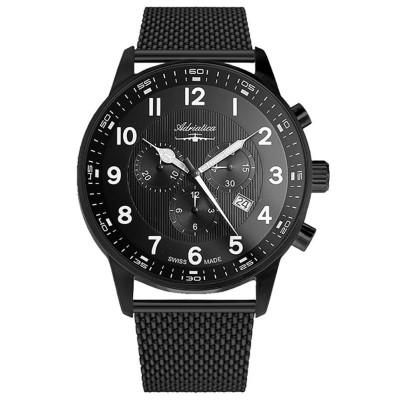 ساعت مچی مردانه اصل | برند آدریاتیکا | مدل A1076.B124CHXL