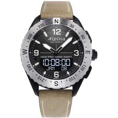 ساعت مچی مردانه هوشمند اصل | برند آلپینا | مدل AL-283LBBW5SAQ6