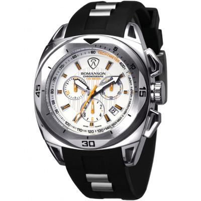 ساعت مچی مردانه اصل | برند رومانسون | مدل AL1237HM1WA12W