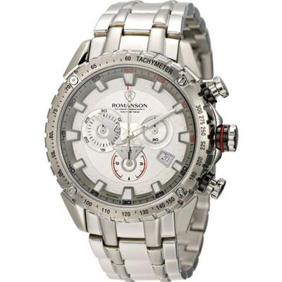 ساعت مچی مردانه اصل | برند رومانسون | مدل AM1210HM1WAS2W
