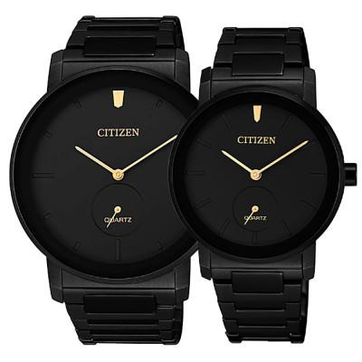 ساعت مچی ست مردانه و زنانه اصل   برند سیتیزن   مدل BE9187-53E   EQ9065-50E