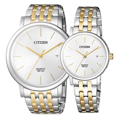 ساعت مچی ست مردانه و زنانه اصل   برند سیتیزن   مدل BI5074-56A   EU6094-53A