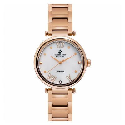 ساعت مچی زنانه اصل   برند بورلی هیلز پولو کلاب   مدل BP3100X.420
