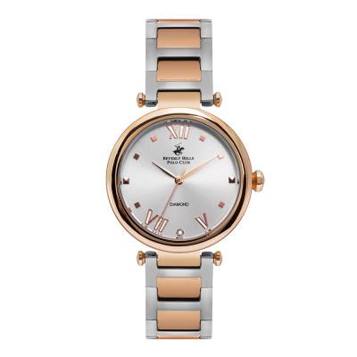 ساعت مچی زنانه اصل   برند بورلی هیلز پولو کلاب   مدل BP3100X.520