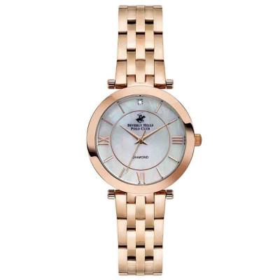 ساعت مچی زنانه اصل   برند بورلی هیلز پولو کلاب   مدل BP3103X.420