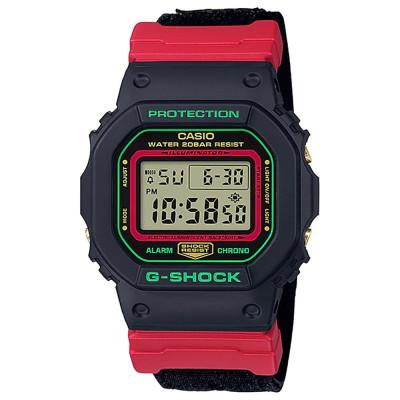 ساعت مچی مردانه اصل | برند کاسیو | مدل جی شاک DW-5600THC-1DR