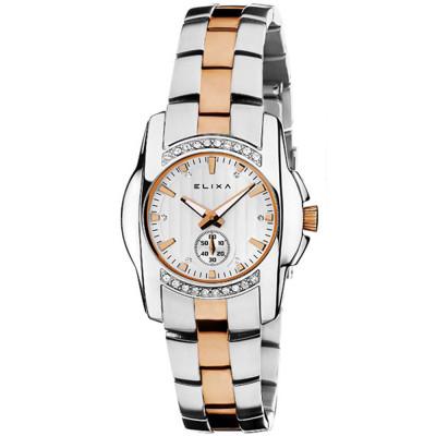 ساعت مچی زنانه اصل | برند الیکسا | مدل E051-L160