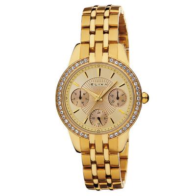 ساعت مچی زنانه اصل | برند الیکسا | مدل E053-L164