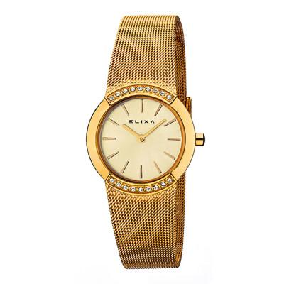 ساعت مچی زنانه اصل | برند الیکسا | مدل E059-L180