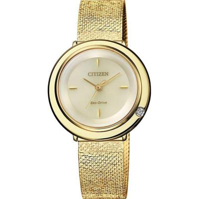 ساعت مچی زنانه اصل | برند سیتیزن | مدل EM0642-87P