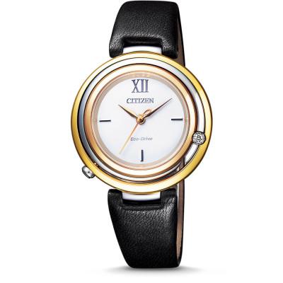 ساعت مچی زنانه اصل | برند سیتیزن | مدل EM0656-15A