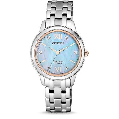ساعت مچی زنانه اصل | برند سیتیزن | مدل EM0726-89Y