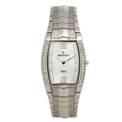ساعت مچی زنانه اصل | برند رومانسون | مدل EM1154QM1WAS2W
