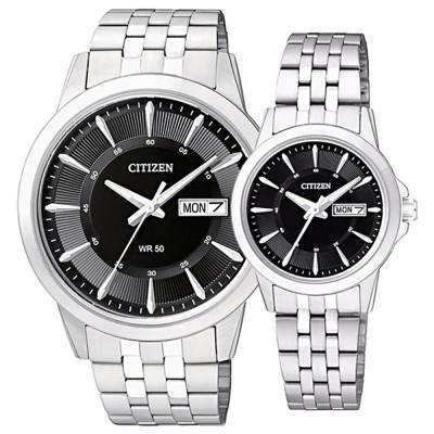 ساعت مچی ست مردانه و زنانه اصل   برند سیتیزن   مدل EQ0601-54E   BF2011-51E