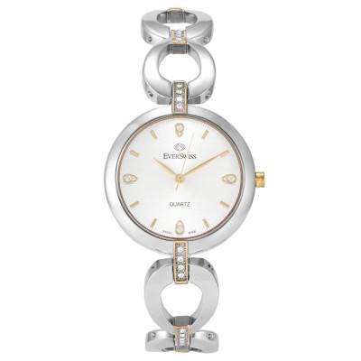 ساعت مچی زنانه اصل | برند اورسوئیس | مدل EV-2786-LTS