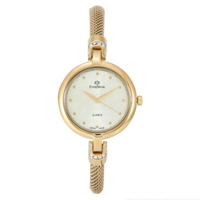 ساعت مچی زنانه اصل | برند اورسوئیس | مدل EV-2792-LGC