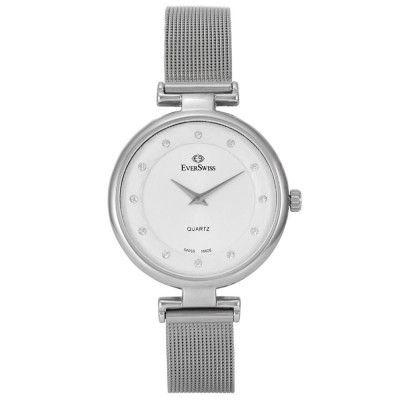 ساعت مچی زنانه اصل | برند اورسوئیس | مدل EV-2802M-LSS