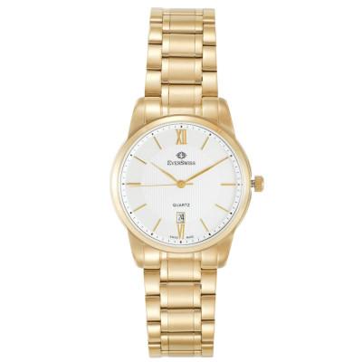 ساعت مچی مردانه اصل   برند اورسوئیس   مدل EV-9741-GGS