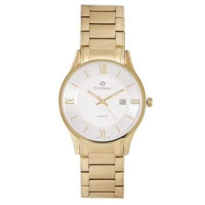 ساعت مچی مردانه اصل   برند اورسوئیس   مدل EV-9745-GGS