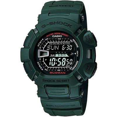 ساعت مچی مردانه اصل | برند کاسیو | مدل G-9000-3VDR