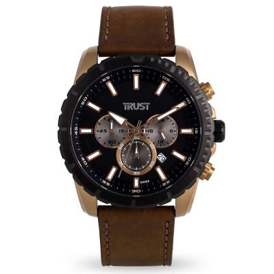 ساعت مچی مردانه اصل | برند تراست | مدل G496IQD