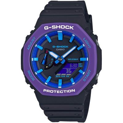 ساعت مچی مردانه اصل | برند کاسیو | مدل جی شاک GA-2100THS-1ADR
