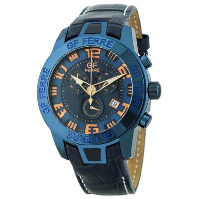 ساعت مچی مردانه اصل |برند جی اف فره | مدل GF.BK7399.2R.2