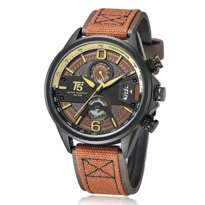 ساعت مچی مردانه اصل | برند تی فایو | مدل H3584-B