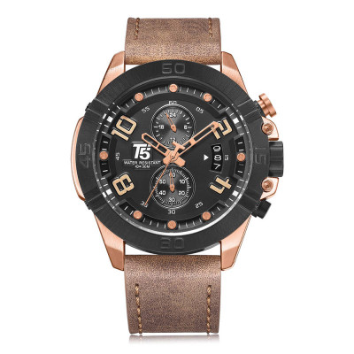 ساعت مچی مردانه اصل | برند تی فایو | مدل H3637-E