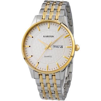 ساعت مچی مردانه اصل | برند کارستون | مدل K-2099GBL