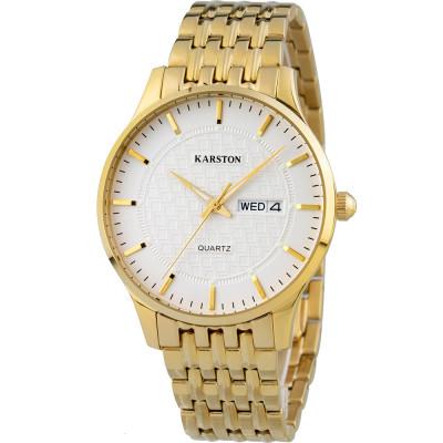 ساعت مچی مردانه اصل | برند کارستون | مدل K-2099GBV