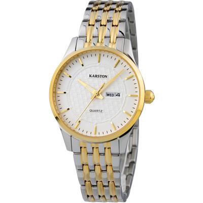 ساعت مچی زنانه اصل | برند کارستون | مدل K-2099LBL
