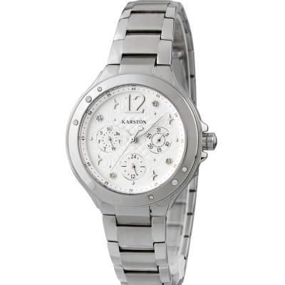 ساعت مچی زنانه اصل | برند کارستون | مدل K-9023LBB