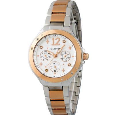 ساعت مچی زنانه اصل | برند کارستون | مدل K-9023LBG