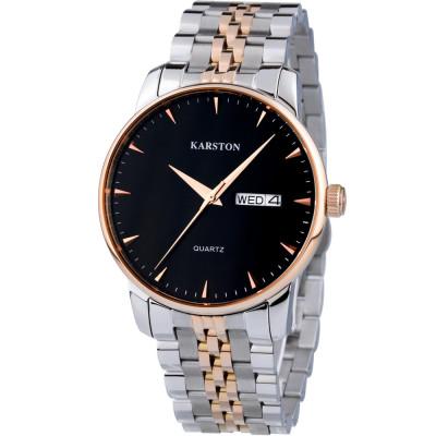 ساعت مچی مردانه اصل | برند کارستون | مدل K-9028GBF