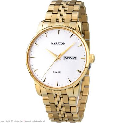 ساعت مچی مردانه اصل | برند کارستون | مدل K-9028GBV