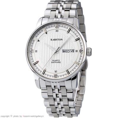 ساعت مچی مردانه اصل | برند کارستون | مدل K-9032GBB