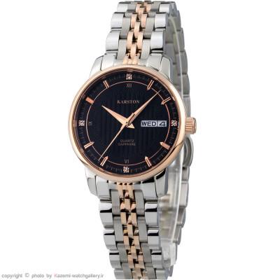 ساعت مچی زنانه اصل | برند کارستون | مدل K-9032LBF